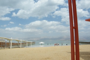 Dead Sea women's beach
